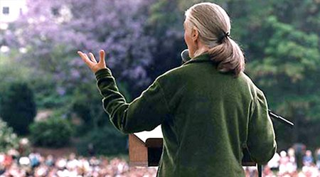 Dr.-Jane-Goodall-Speaking-at-event