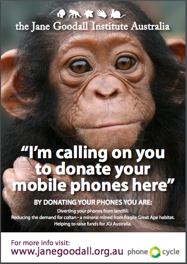 Dr. Jane Goodall | Mobile Phone Recycling