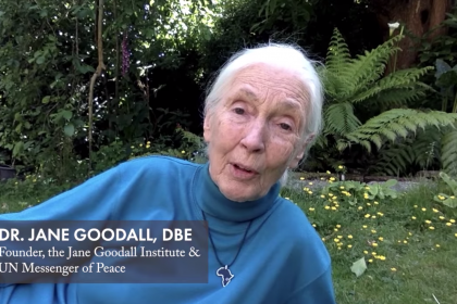 World Environment Day 2020 message from Dr. Jane Goodall